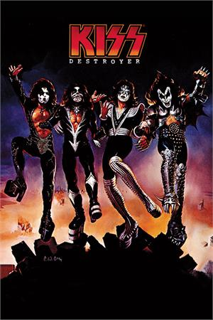 Image of KISS Destroyer Poster