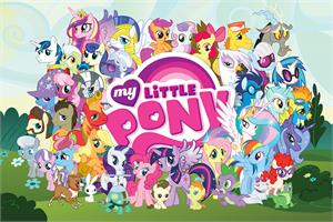 Image of  My Little Pony - Cast Poster