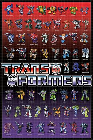 Image of Transformers - Cast Poster