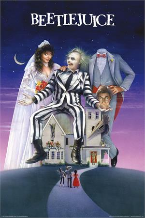 Image of Beetlejuice Movie Art Poster