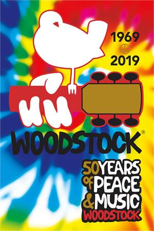 Image of Woodstock 50 Years of Peace & Music 1969-2019 Poster