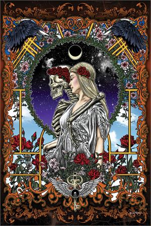 Image of Skeleton Bride Poster