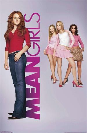 "Mean Girls Poster - 22.375"" x 34"""