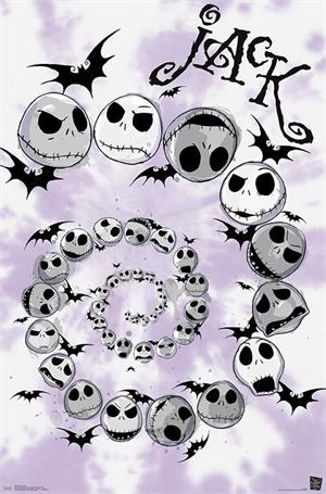 "Tim Burton's Nightmare Before Christmas - Spiral Poster - 22.375"" x 34"""