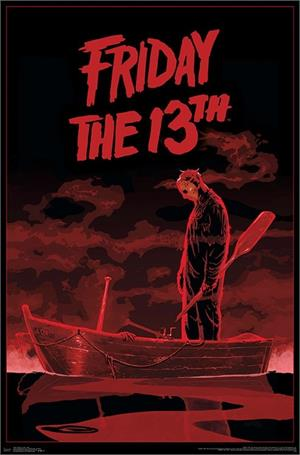 "Friday the 13th - Boat Poster - 22.375"" x 34"""