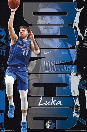 "NBA Dallas Mavericks - Luka Doncic Poster - 22.375"" x 34"""