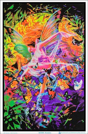 1999 Revelation by Sheila Wolk Blacklight Poster Image