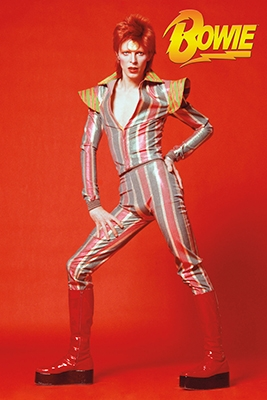 David Bowie - Glam Poster