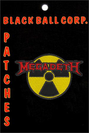 Megadeth Band Embroidered Patch