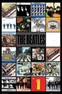 Beatles Albums Poster Image