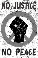 No Justice, No Peace Mini Poster Image