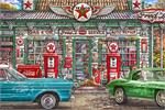 Freds Garage by: Michael Fishel Poster - 24
