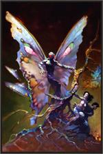 MOTHMAN - By: FRANK FRAZETTA - POSTER - 24