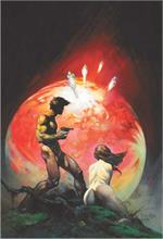 RED PLANET - By: FRANK FRAZETTA - POSTER - 24