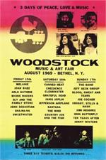 Woodstock Line Up Poster - 24