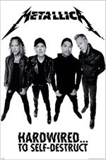 Metallica Hardwired Poster Image