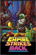 Star Wars - Empire Strikes Back Neon Poster Image
