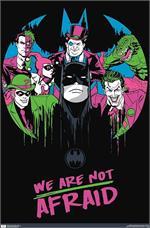 DC Comics Batman - Afraid Neon Poster Image