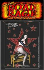 Bettie Page Stars Road Rage Air Freshener