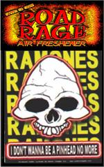 Ramones - I Don't Wanna Be A Pinhead No More  Road Rage Air Freshener