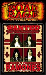 Ramones Wanted  Road Rage Air Freshener