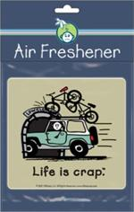 Life Is Crap - Bike  Road Rage Air Freshener