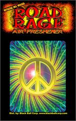 Mo Peace Road Rage Air Freshener