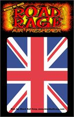 Union Jack  Road Rage Air Freshener