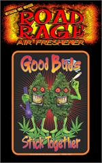 Good Buds Stick Together  Road Rage Air Freshener