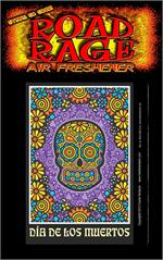 Day Of The Dead Road Rage Air Freshener