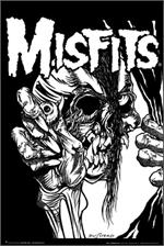 Image of Misfits Pushead Poster
