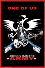 JOHNNY RAMONE ANIMATED ARMY POSTER - 24