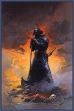 DEATH DEALER THREE - By: FRANK FRAZETTA - POSTER - 24