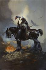 DEATH DEALER - By: FRANK FRAZETTA - POSTER - 24