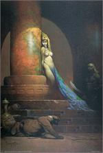 EGYPTIAN QUEEN - By: FRANK FRAZETTA - POSTER - 24