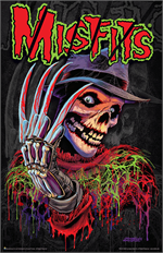 Misfits Nightmare Fiend Mini Poster - 11