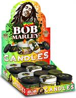 Bob Marley Tins Candles 12ct/12cs