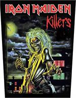 BACK PATCH - IRON MAIDEN KILLERS