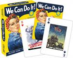 WAR POSTERS PLAYING CARDS