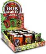 Bob Marley Small Votive Candles - 12ct