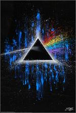 PINK FLOYD - DARK SIDE OF THE MOON by: Stephen Fishwick - POSTER - 24