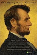 ABRAHAM LINCOLN SMITHSONIAN POSTER - 24