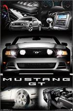 FORD MUSTANG CAR POSTER - 23