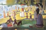 Sunday on La Grande Jatte by Seurat Poster Image