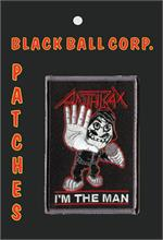 PATCH - ANTHRAX Embroidered Patch