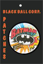 PATCH - BATMAN BURST Embroidered Patch