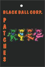 PATCH - GRATEFUL DEAD DANCING BEARS Embroidered Patch