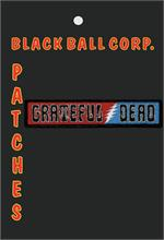 PATCH - GRATEFUL DEAD SIXTIES LOGO Embroidered Patch