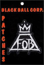 Fall Out Boy Band Embroidered Patch