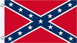 CONFEDERATE FLY FLAG